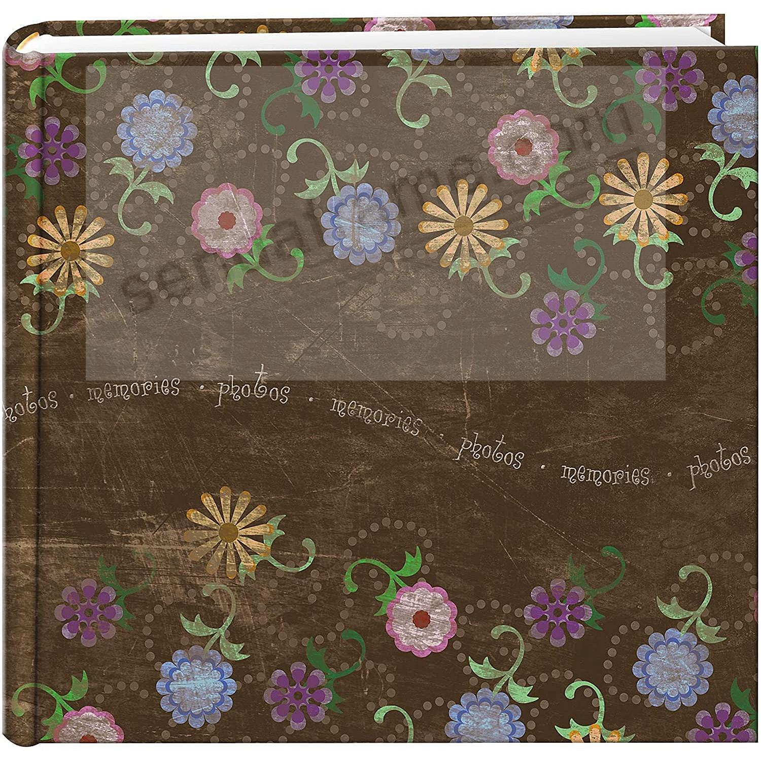 AGED FLORAL 2-up 4x6 bookbound album by Pioneer®