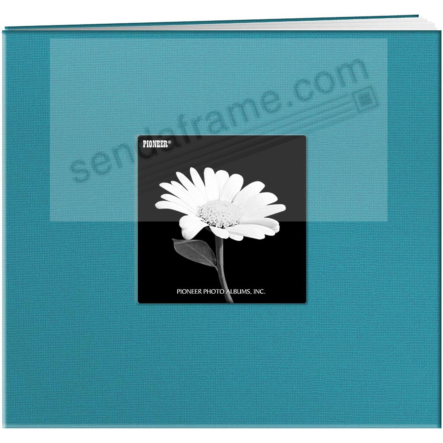 TURQUOISE-BLUE 12x12 Cloth Scrapbook album by Pioneer®