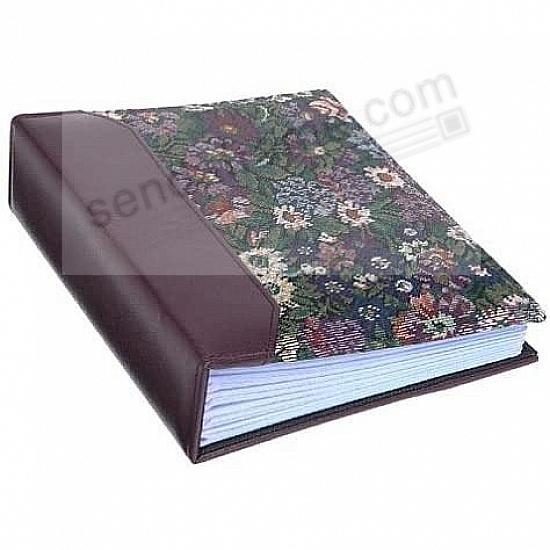 VERSAILLES TAPESTRY FABRIC Burgundy 2-up 4x6 bookbound album by Pioneer®