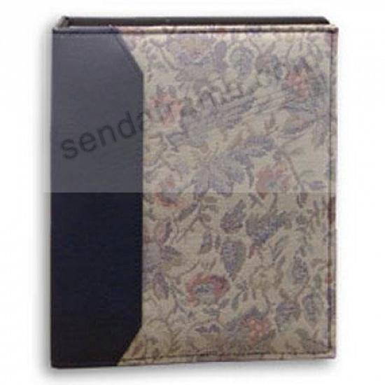 VERSAILLES TAPESTRY FABRIC Navy-Blue 2-up 4x6 bookbound album by Pioneer®