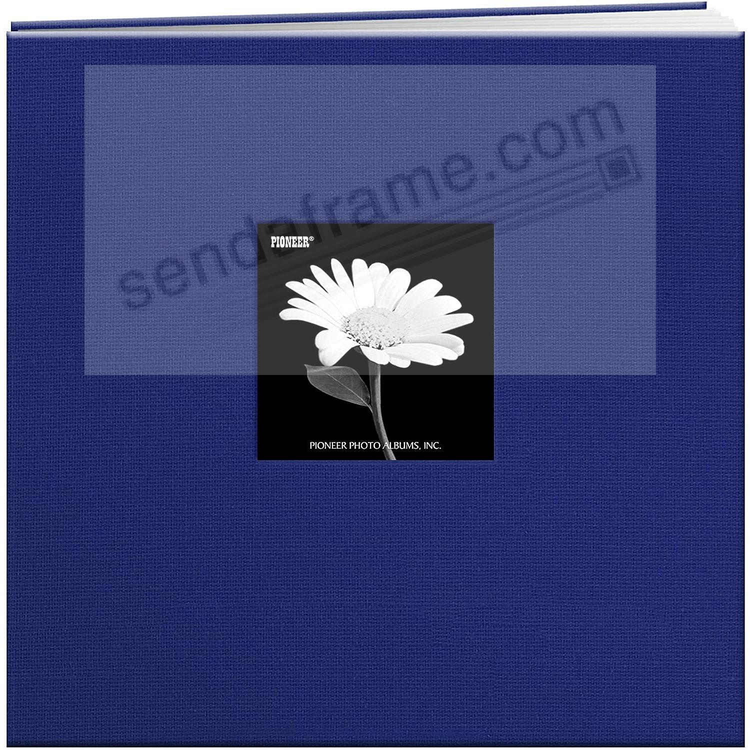 COBALT-BLUE 12x12 Cloth Scrapbook album by Pioneer®