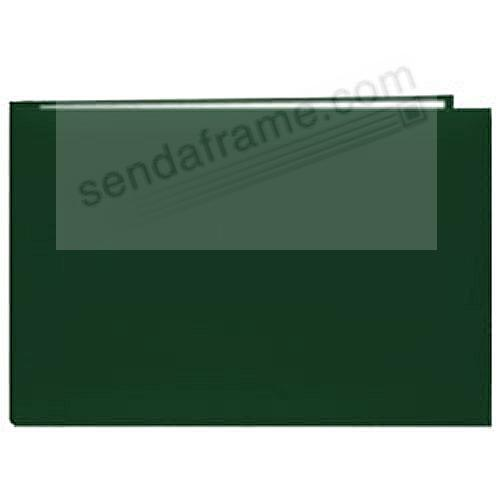 Hunter-Green 5x7 Leatherette Scrapbook album by Pioneer®