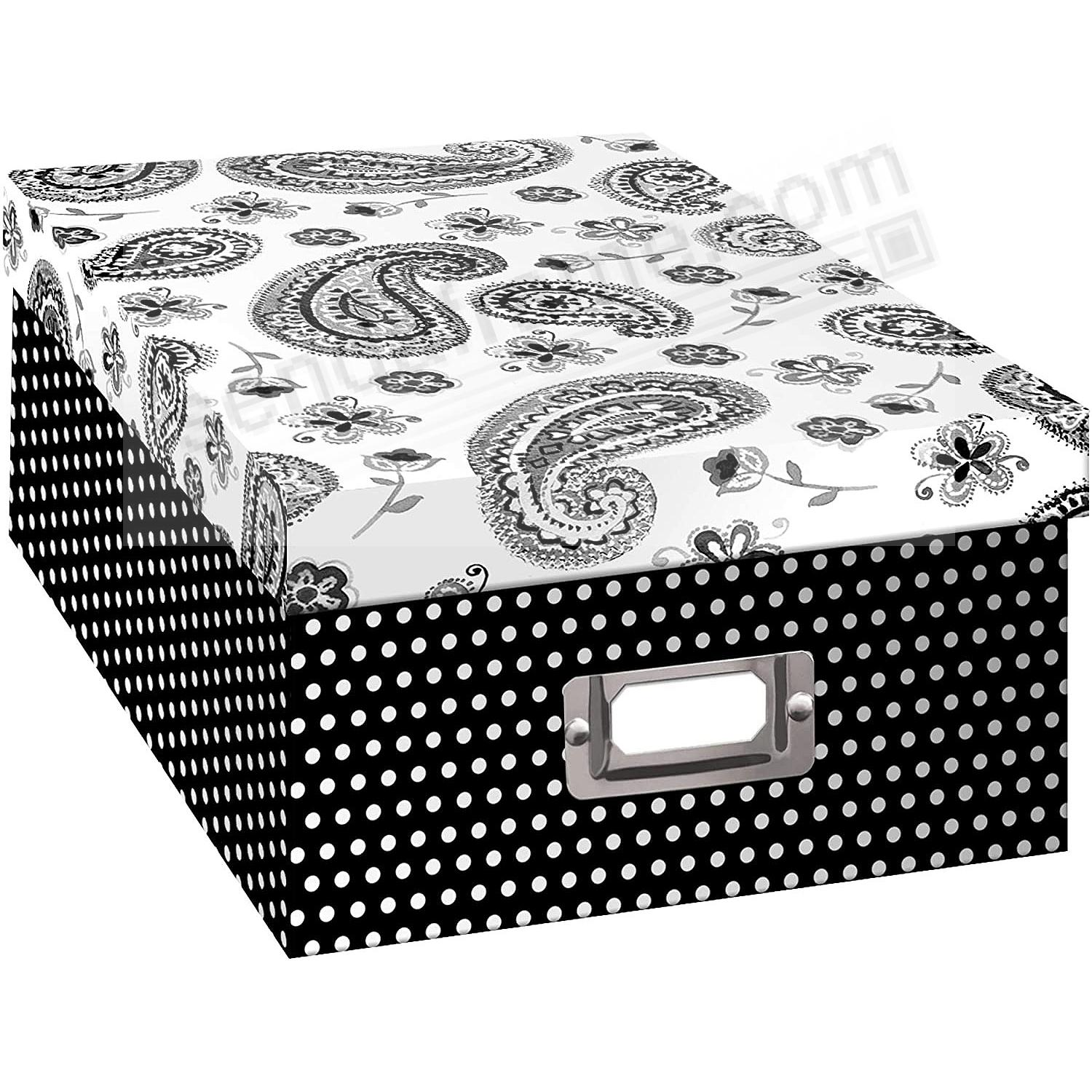 PAISLEY Archival STORAGE Photo Box by Pioneer®