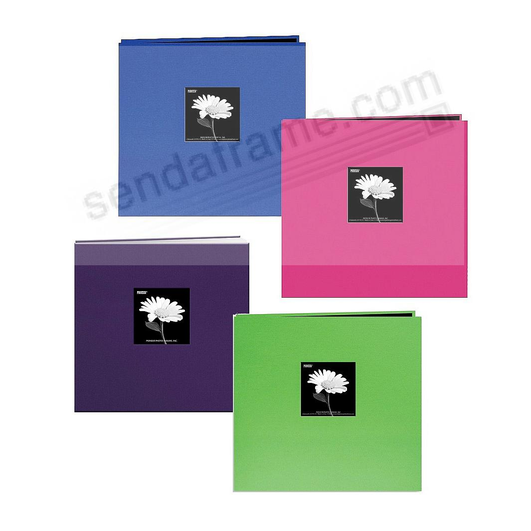Assorted:BP-1/CG-1/CB-1/GP-1 Brights 12x12 Fabric Scrapbook album by Pioneer®