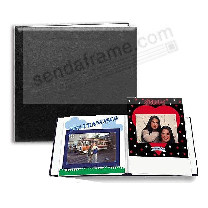 Black E-Z LOAD 8x8 Scrapbook by Pioneer®
