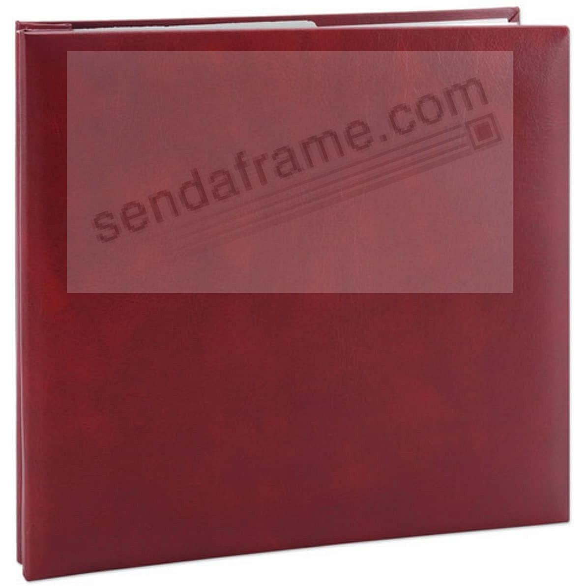 Burgundy E-Z LOAD 8x8 Scrapbook by Pioneer®