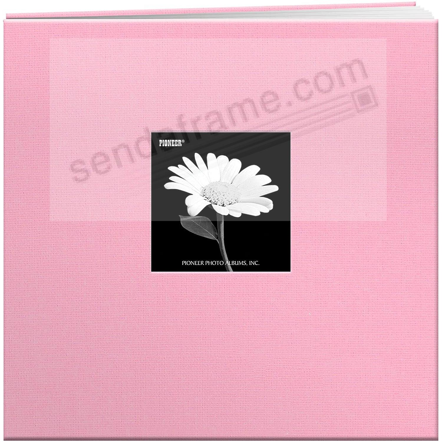 Dreamy-Pink 12x12 Cloth Scrapbook album by Pioneer®