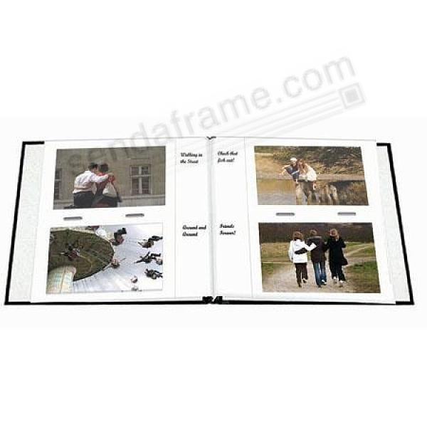 Genuine Pioneer® 4x6 album pocket page refills for 8x8 albums