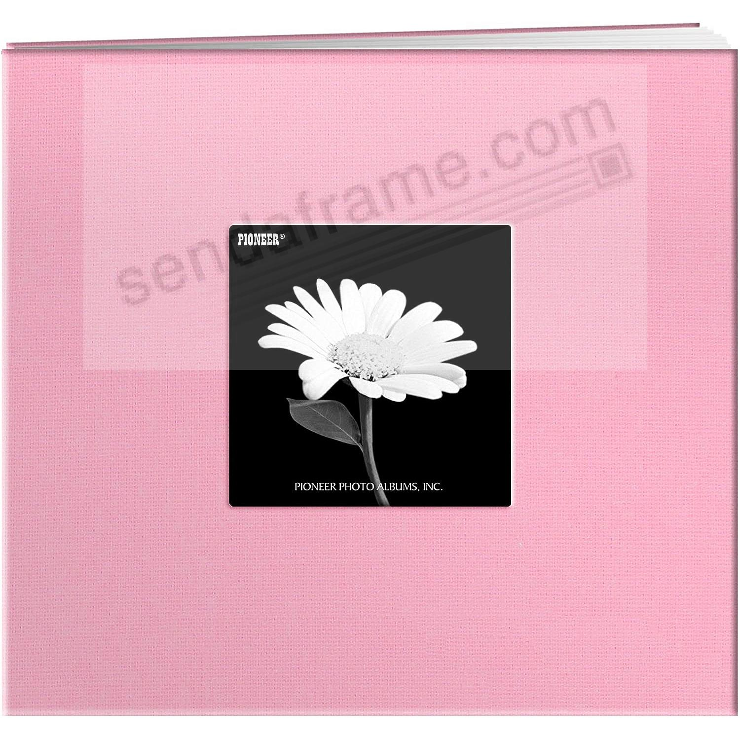DREAMY-PINK 8x8 Fabric Scrapbook album by Pioneer®