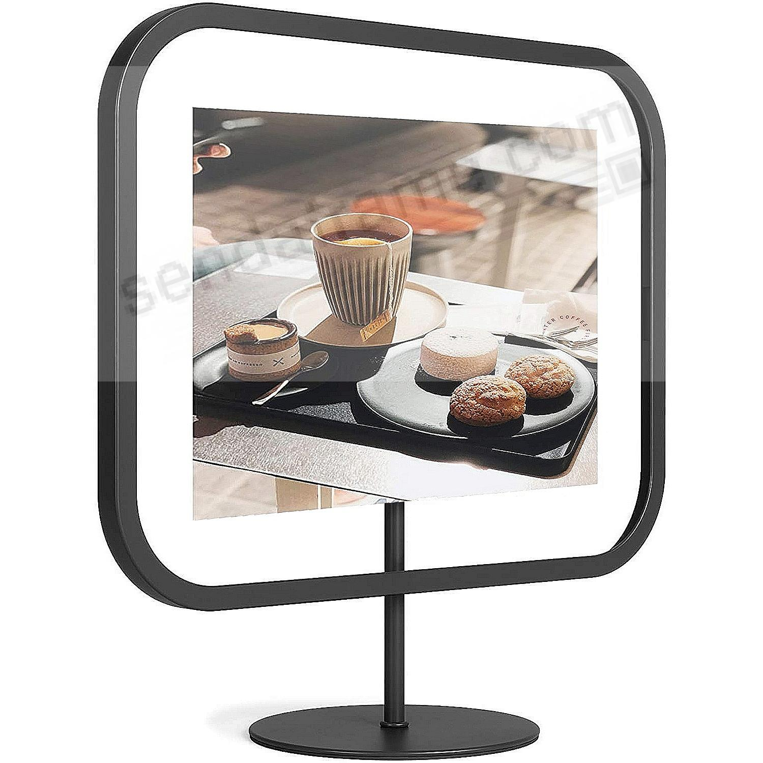 The INFINITY SQROUND Photo Display Black 5x7 frame by Umbra®