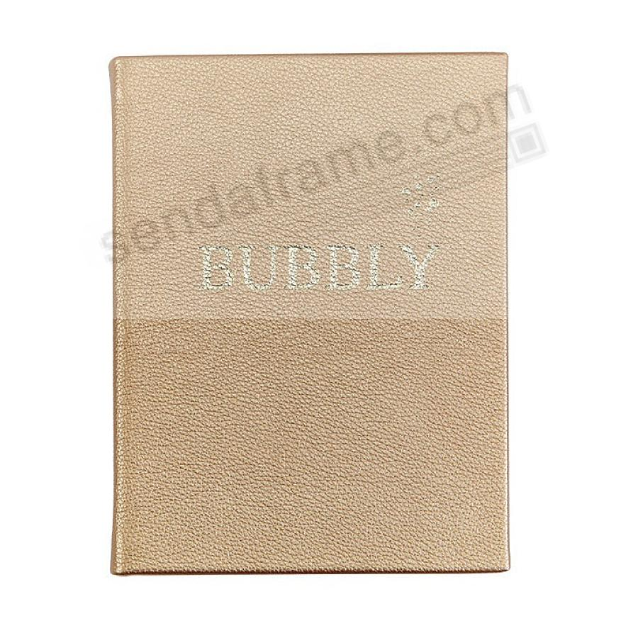 Bubbly: A Collection of Champagne Cocktails: Gold Metallic Finish Edition by Graphic Image™