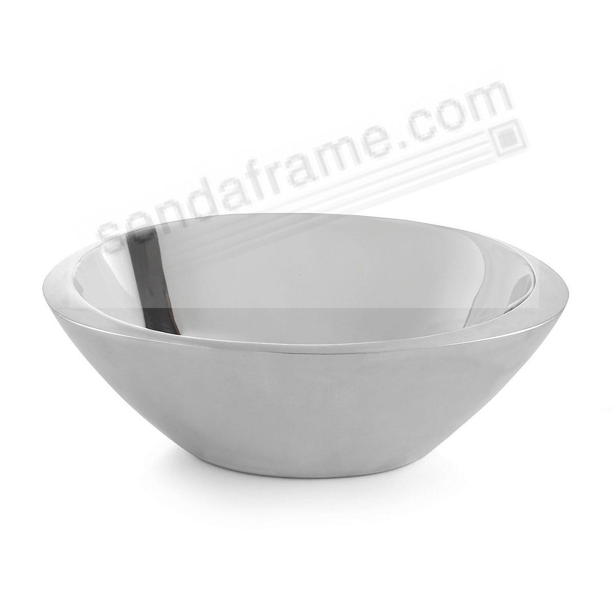 The ECLIPSE 10inch SERVING BOWL crafted by Nambe®