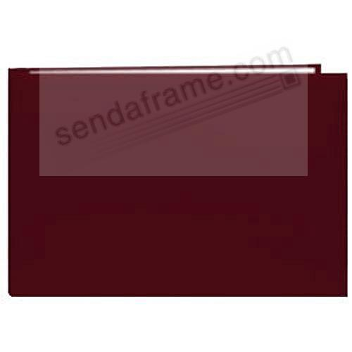 Burgundy 5x7 Leatherette Scrapbook album by Pioneer®