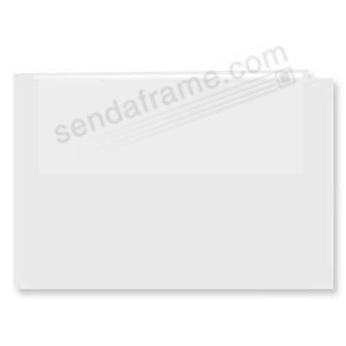 White 5x7 Leatherette Scrapbook album by Pioneer®