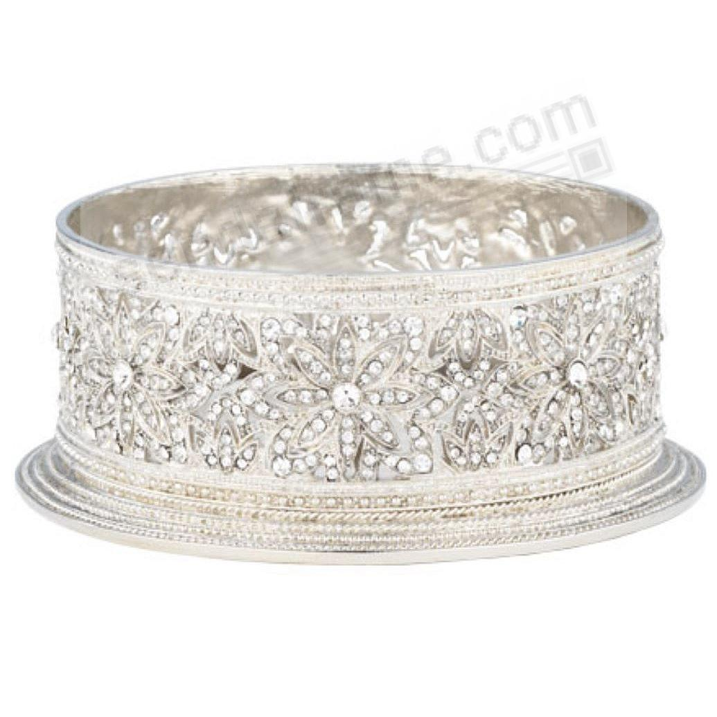 WINDSOR SILVER WINE COASTER / CANDLE HOLDER by Olivia Riegel®