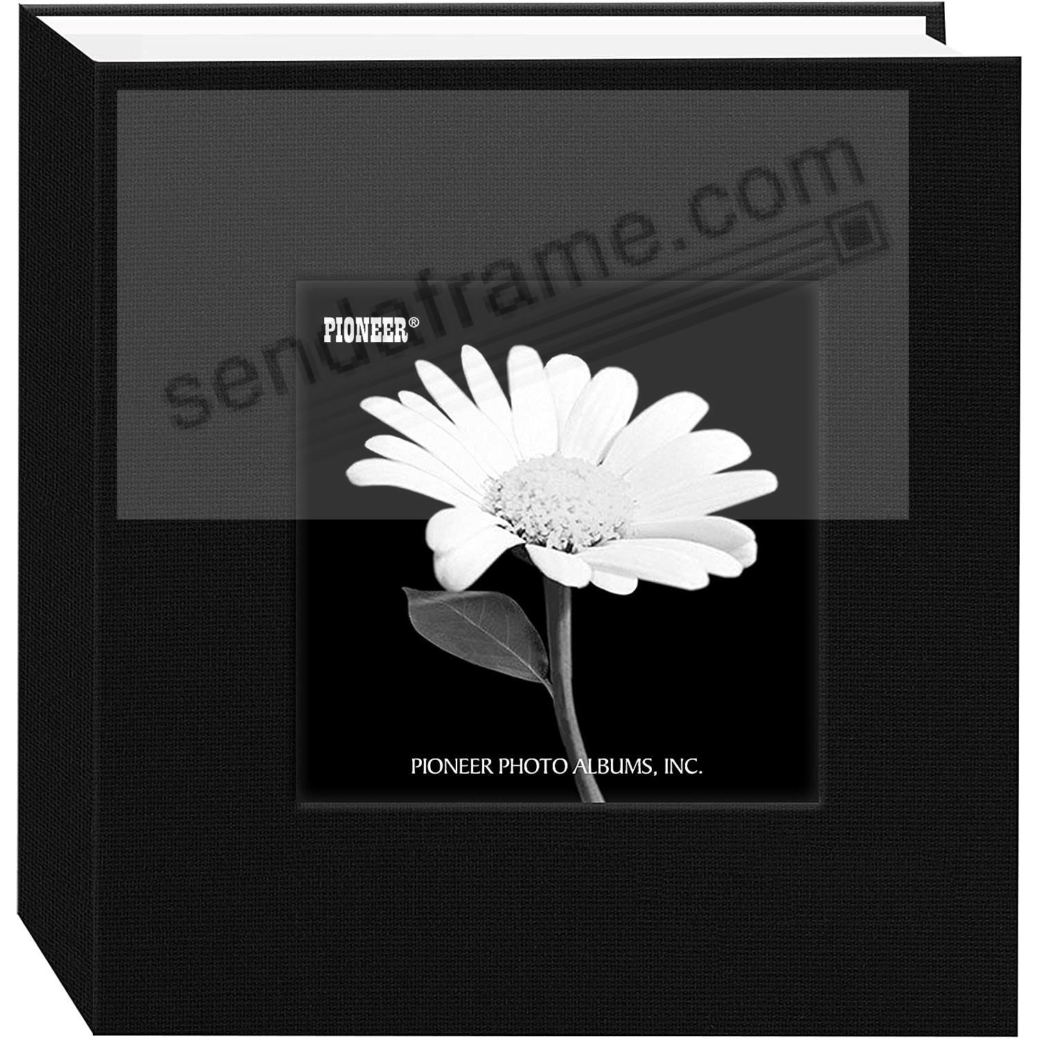 Deep-Black cloth 1-up frame photo album by Pioneer®