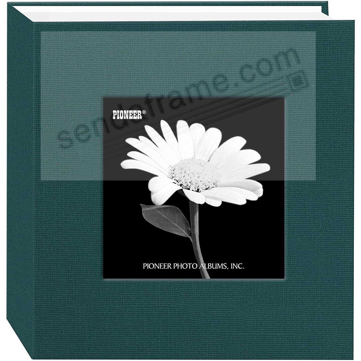 Majestic-Teal cloth 1-up frame photo album by Pioneer®