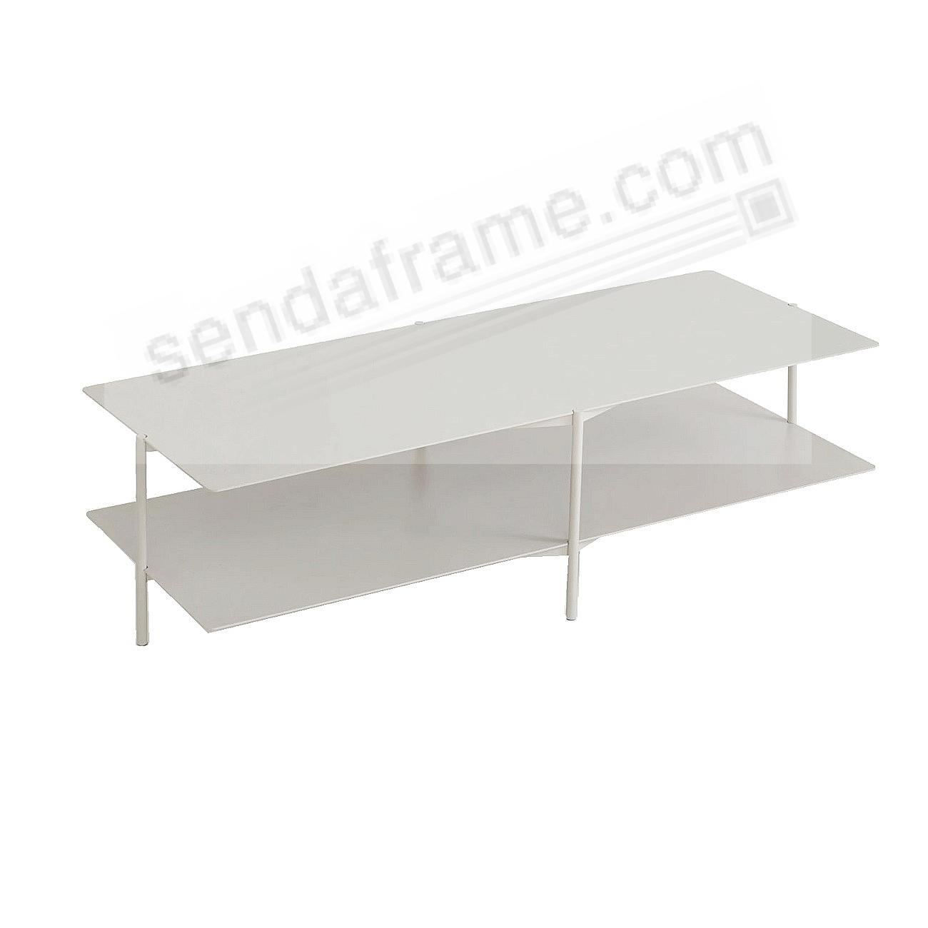 The TIER COFFEE TABLE - Grey - by Umbra®