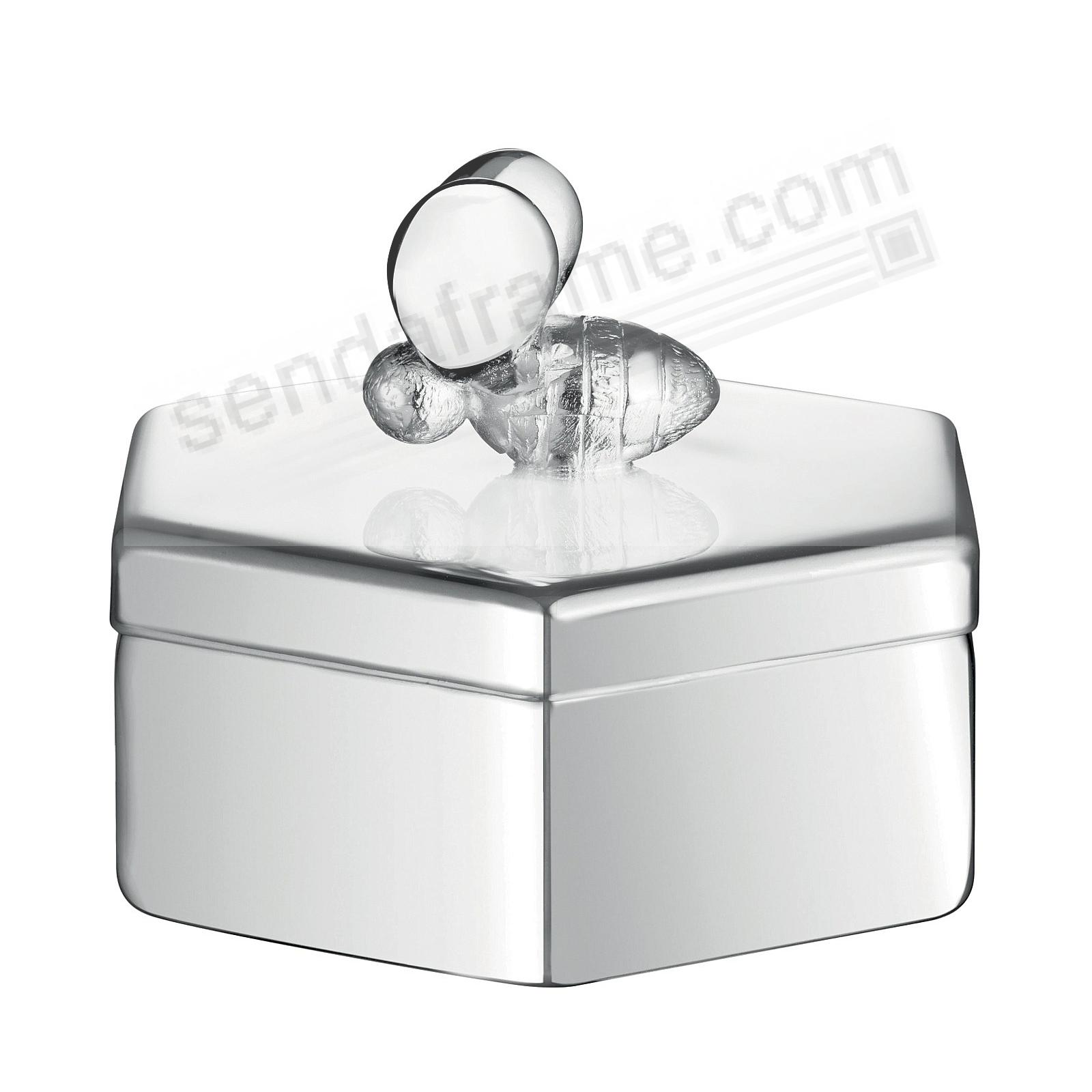 BEEBEE BABY KEEPSAKE BOX w/Lid SILVER by Christofle Paris®