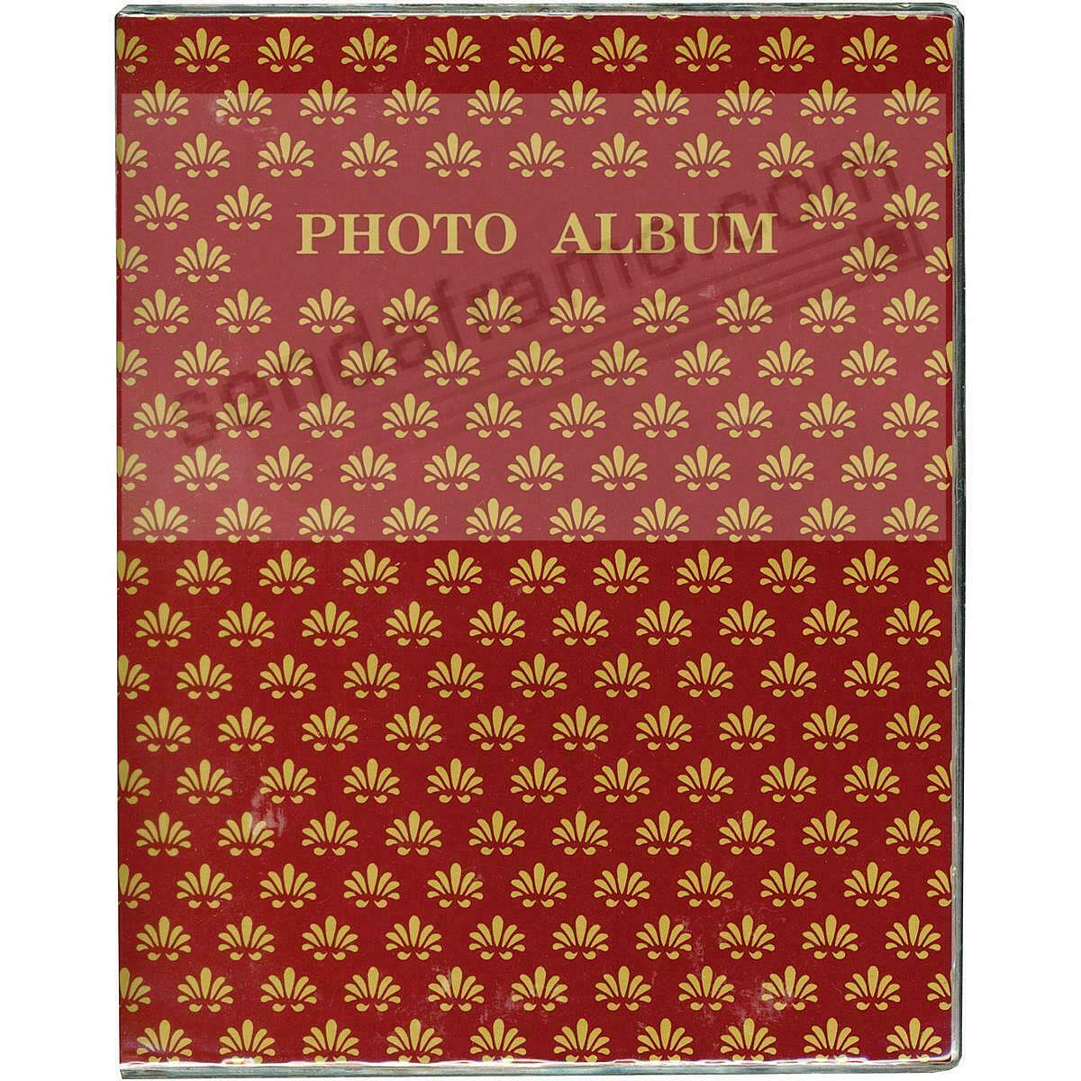 BURGUNDY Proof style 2-up photo book holds 64 prints (3pc bundle priced)