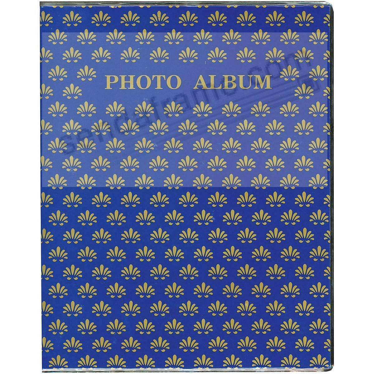 NAVY-BLUE Proof style 2-up photo book holds 64 prints (3pc bundle priced)