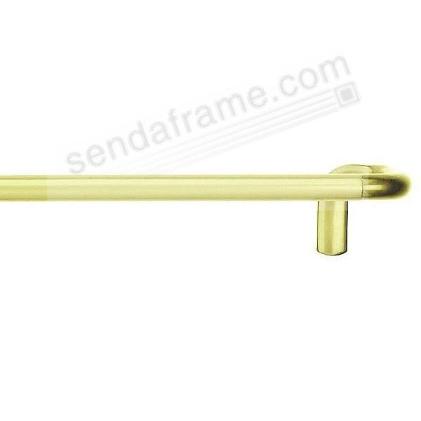 TWILIGHT Drapery Rod ¾in for Window 28-48-Inch Brass by Umbra®