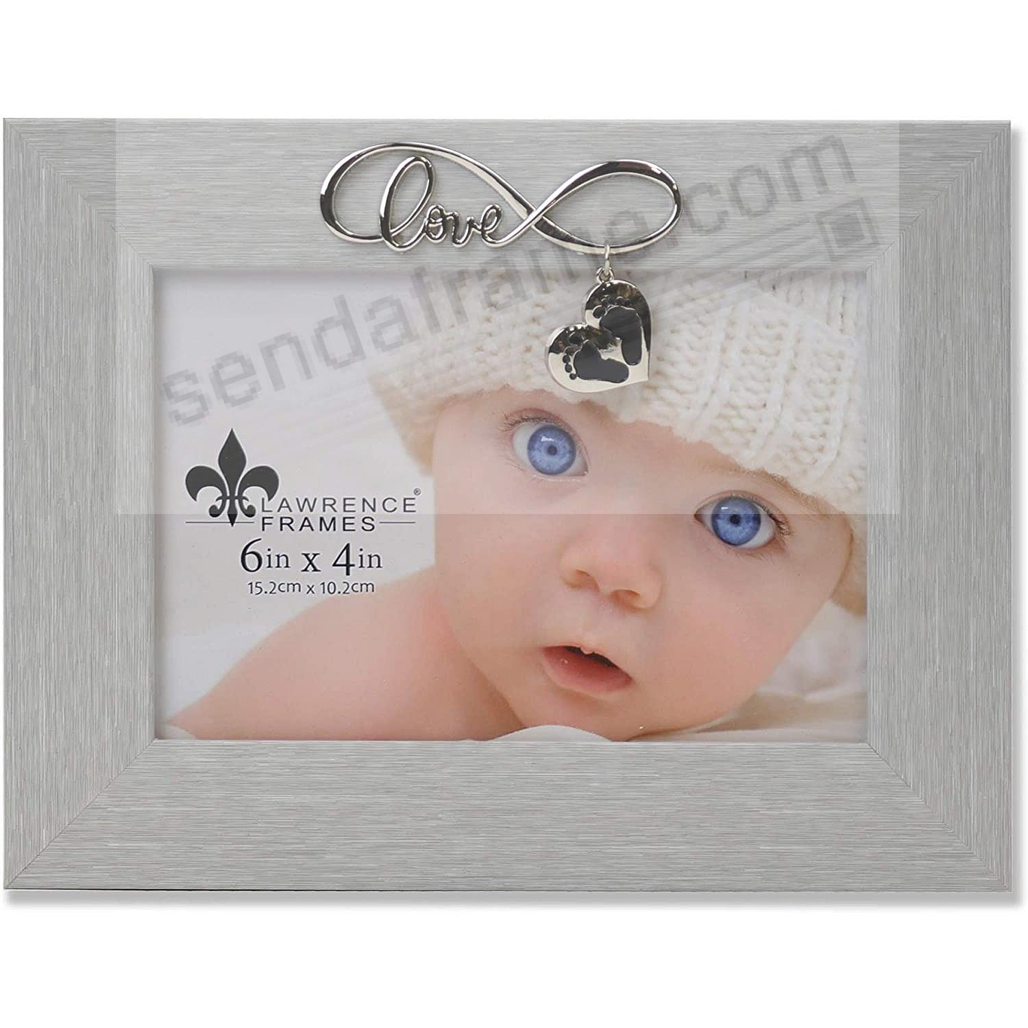 The INFINITY LOVE BABY frame by Lawrence®