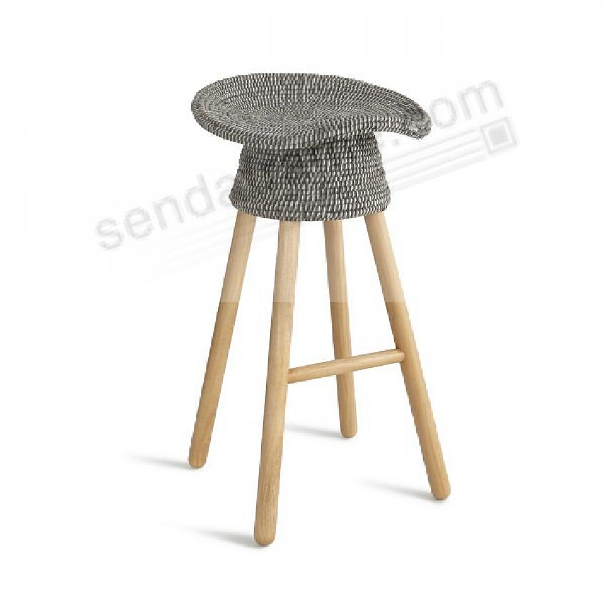 The Original COILED COUNTER STOOL - GRAY - by Umbra Shift®