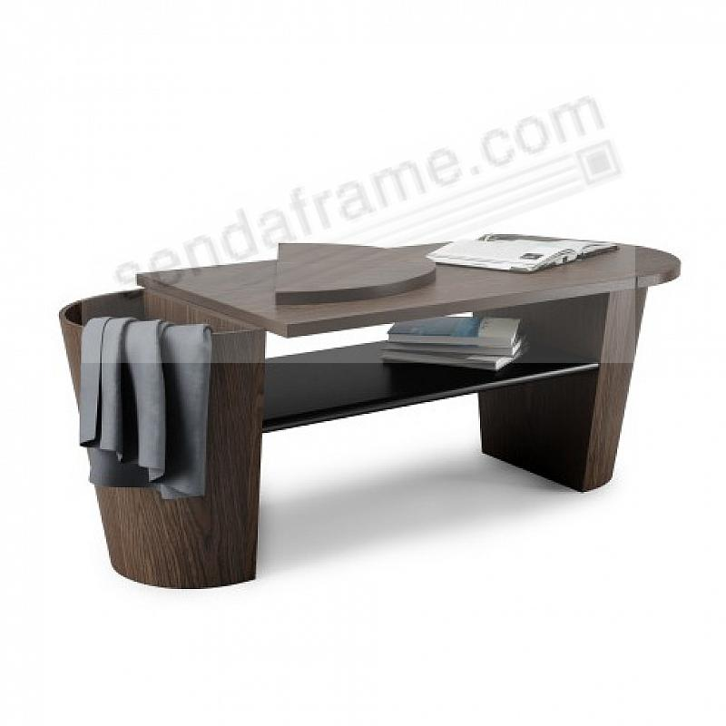The WOODROW COFFEE TABLE BLACK/WALNUT by Umbra®