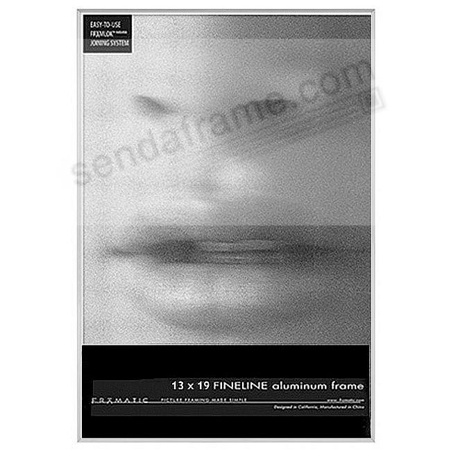 FINELINE Silver Aluminum 13x19 by Framatic®