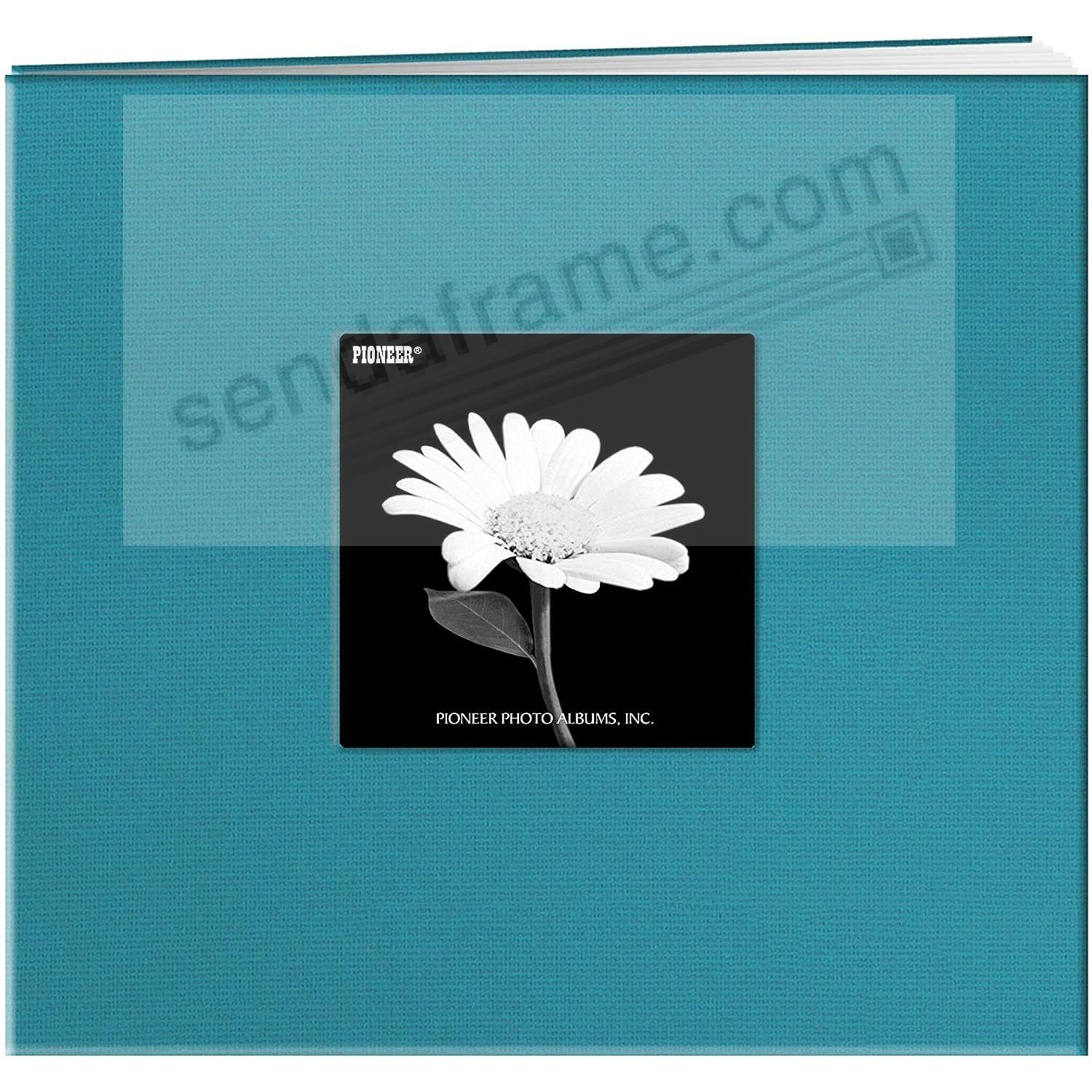 TURQUOISE-BLUE 8x8 Fabric Scrapbook album by Pioneer®