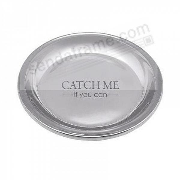CATCH ME -IF YOU CAN- TRINKET TRAY crafted by Mariposa®