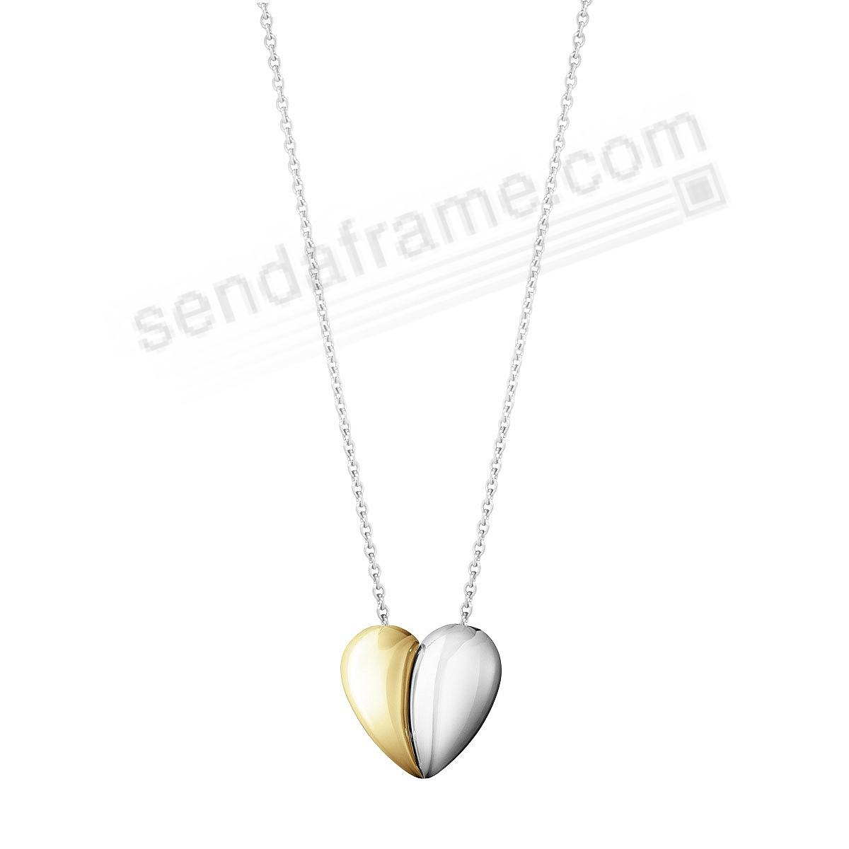 HEARTS OF Georg Jensen® 18kt/Sterling Necklace With Pendant