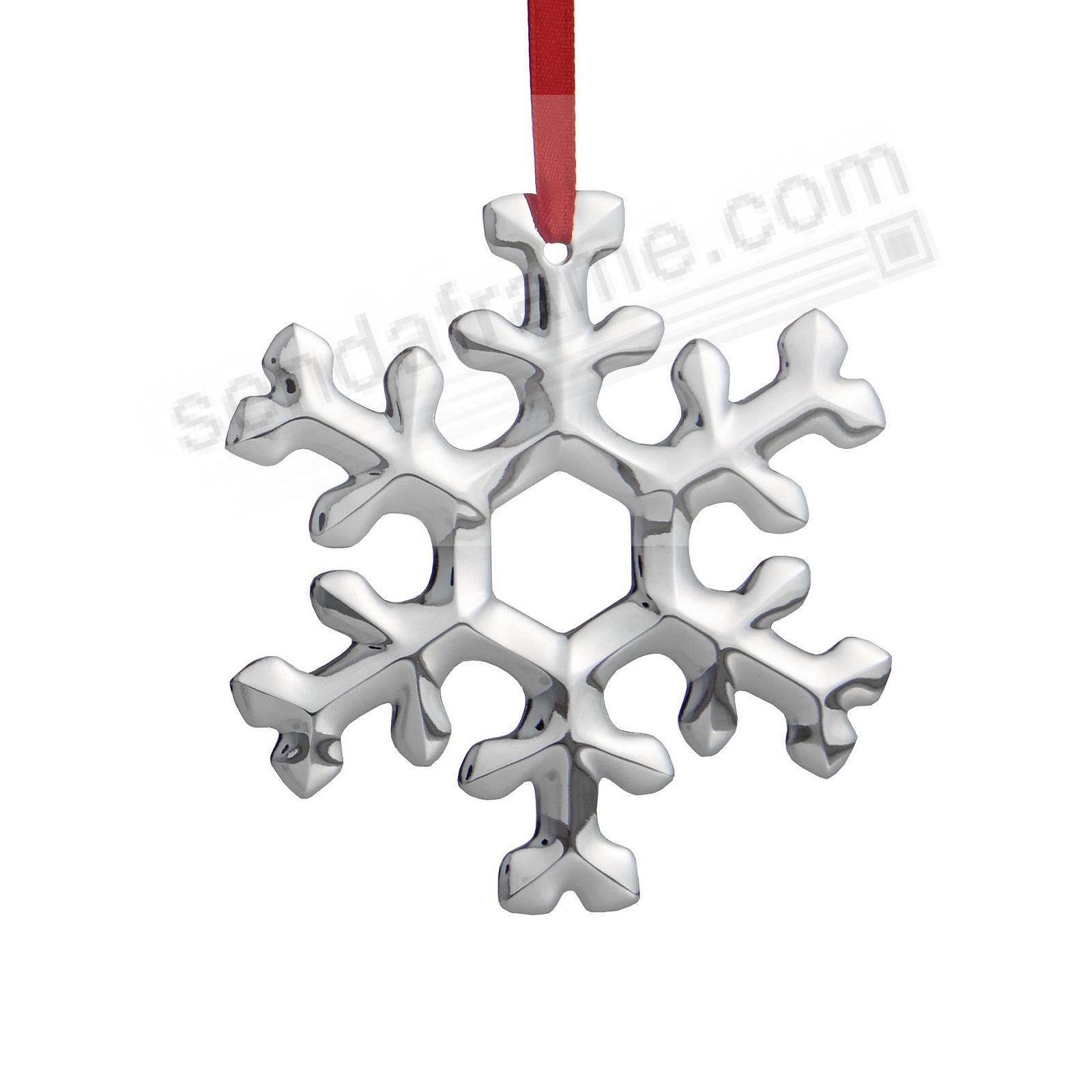 SNOWFLAKE ORNAMENT for 2020 by Nambe®