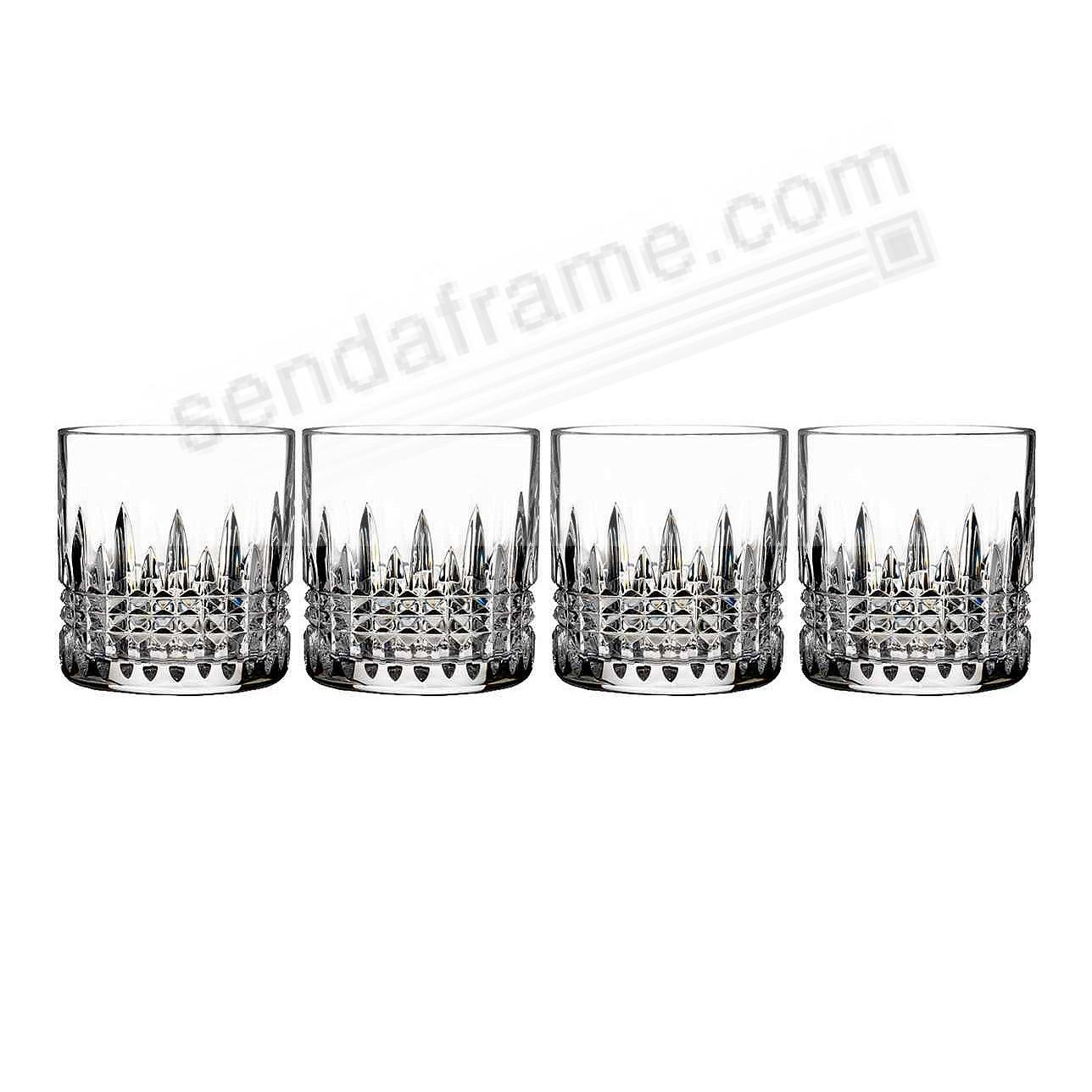 The Original LISMORE DIAMOND Straight-Sided Whiskey Tumblers 7oz by Waterford®