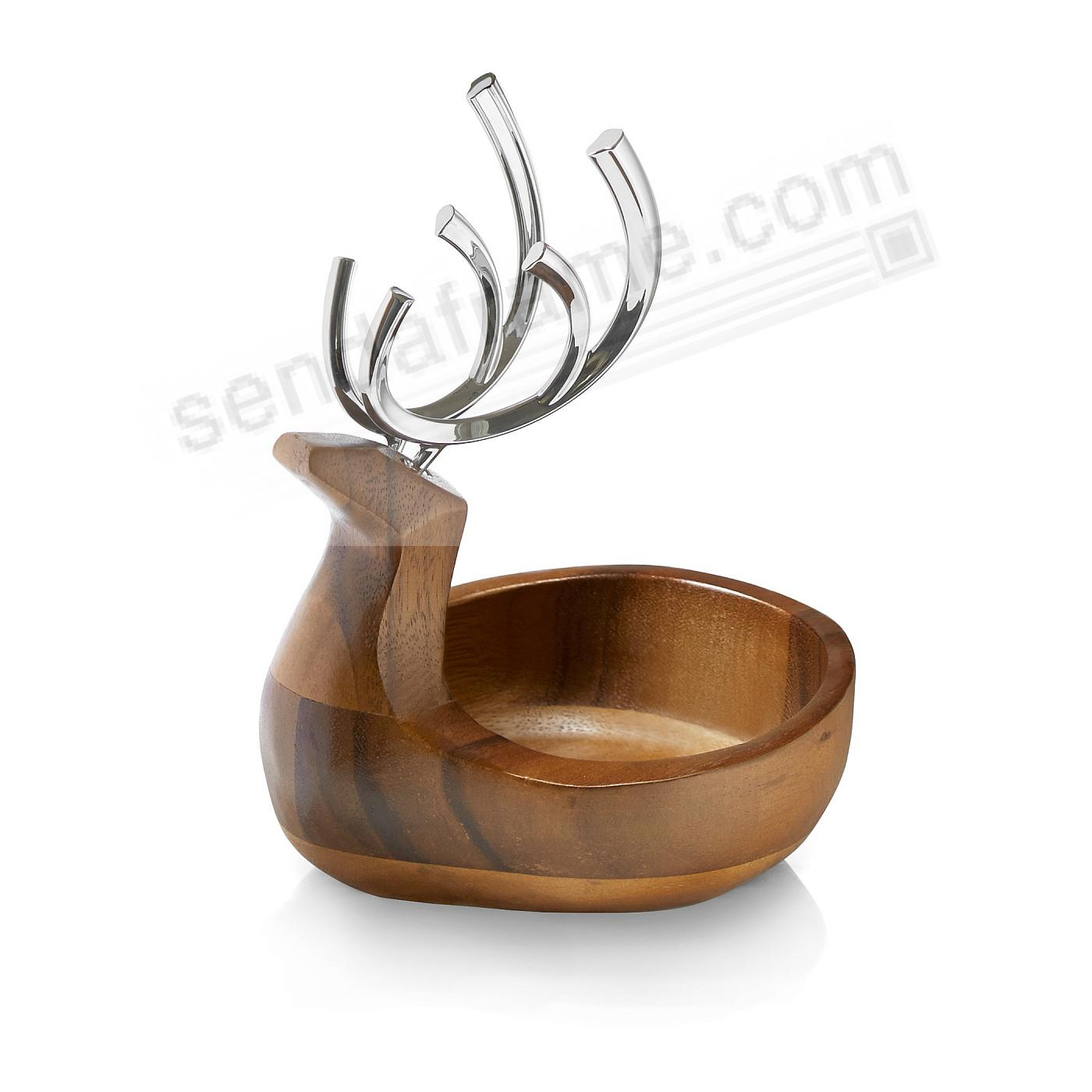 Reindeer Candy Dish by Nambe®