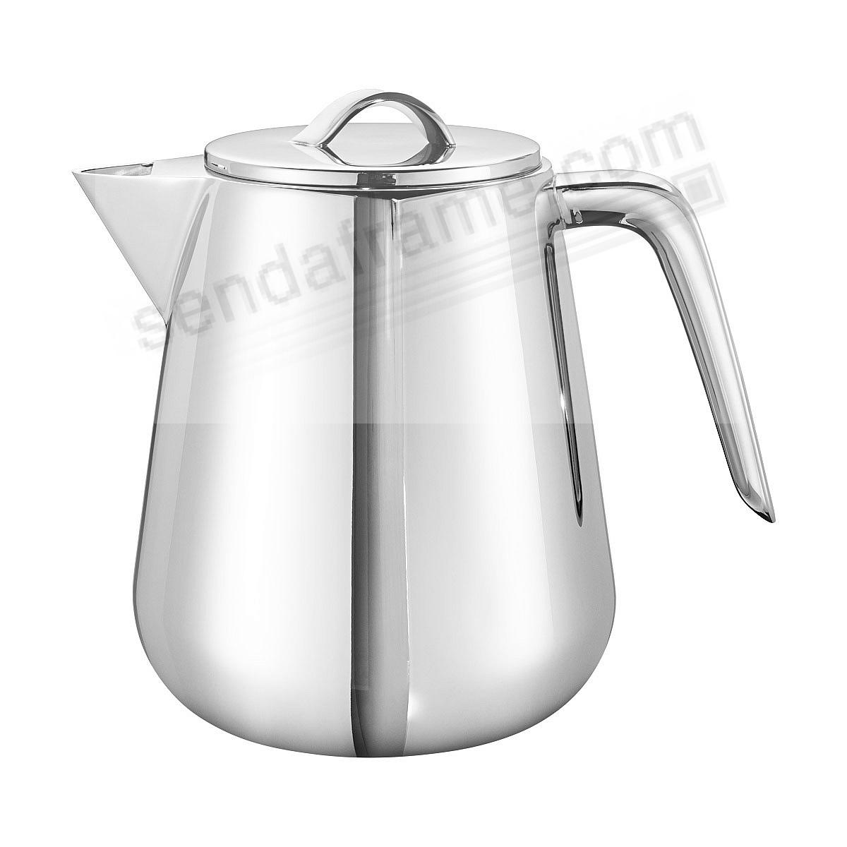 HELIX THERMO TEA POT crafted by Georg Jensen®
