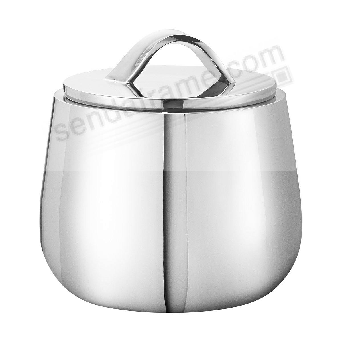 The HELIX Bonbonniere Stainless Steel Sugar Bowl by Georg Jensen®