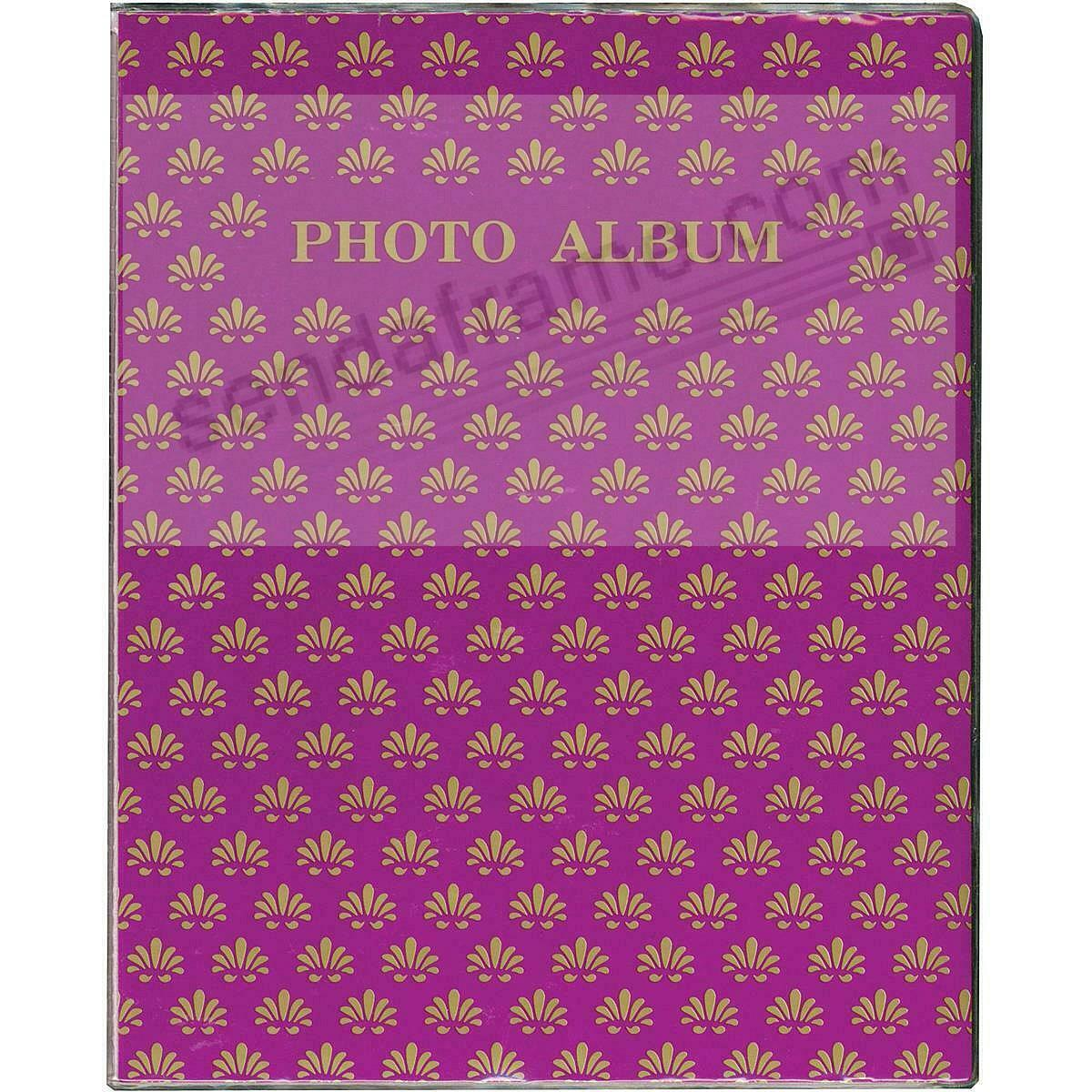 PURPLE Proof style 2-up photo book holds 64 prints (3pc bundle priced)