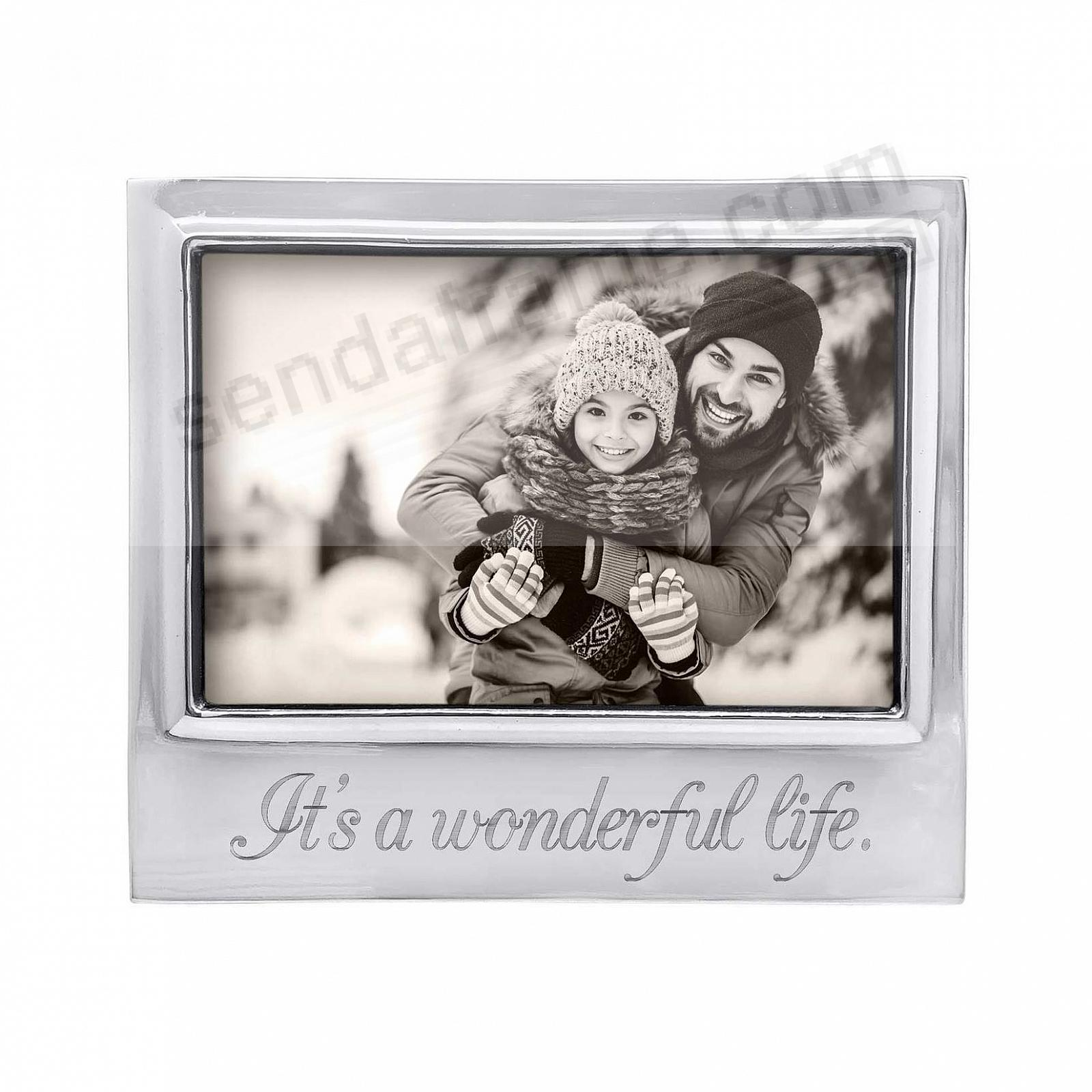 IT'S A WONDERFUL LIFE 6x4 SIGNATURE frame by Mariposa®
