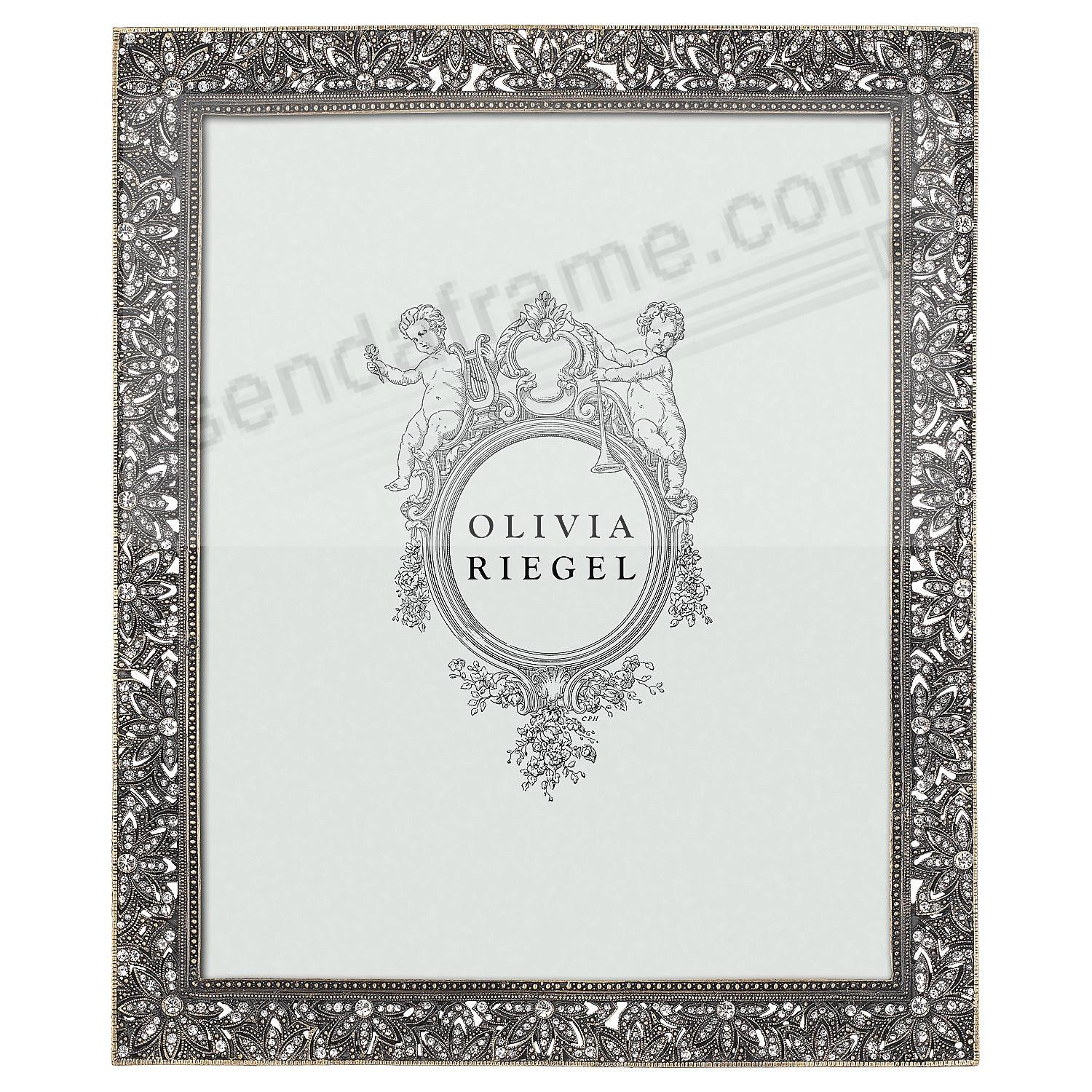 BRONZE WINDSOR Austrian Crystal 8x10 frame by Olivia Riegel®