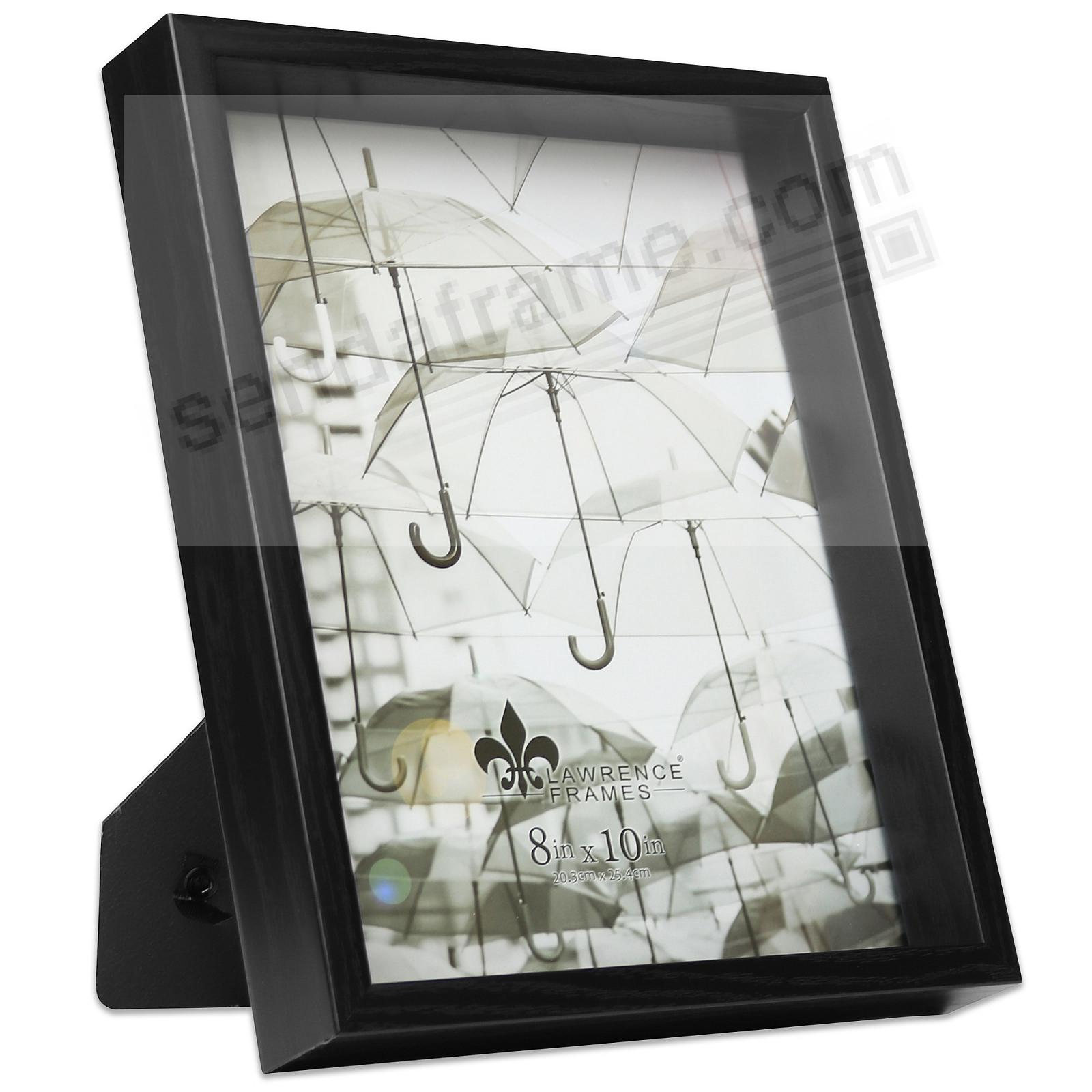 TRIBECA Black 8x10 Deep-Recessed frame by Lawrence®