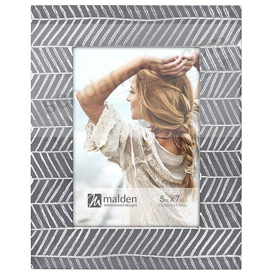 CHEVRON 5x7 frame by Malden®