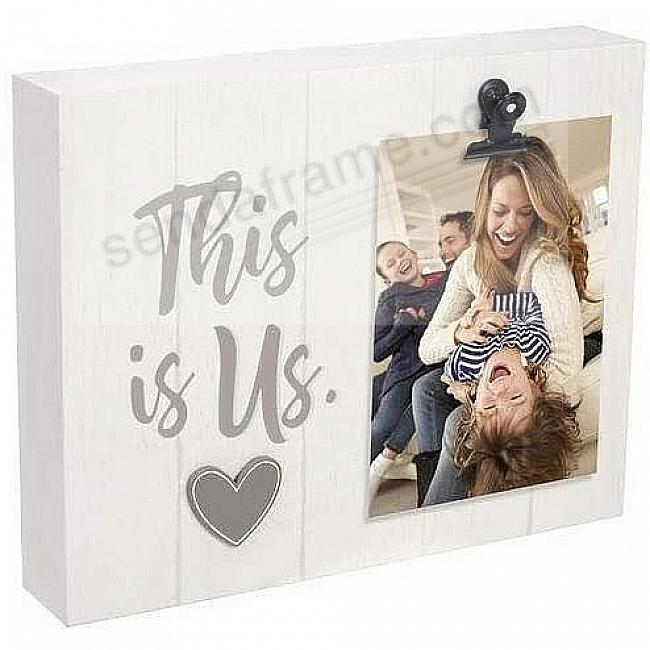 THIS IS US Clip block frame by Malden®