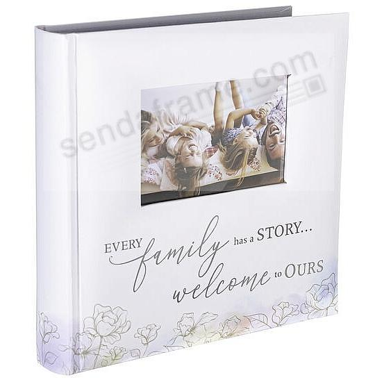 FAMILY WATERCOLOR Album by Malden® holds 160 photos/2-Up Pages