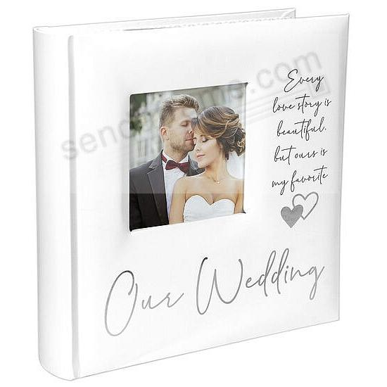 OUR WEDDING by Malden® holds 160 photos/2-Up Pages