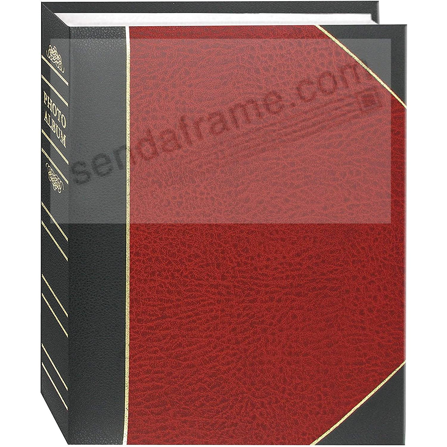 Red LEDGER 4x6 200 Pocket Lé Memo Album by Pioneer®