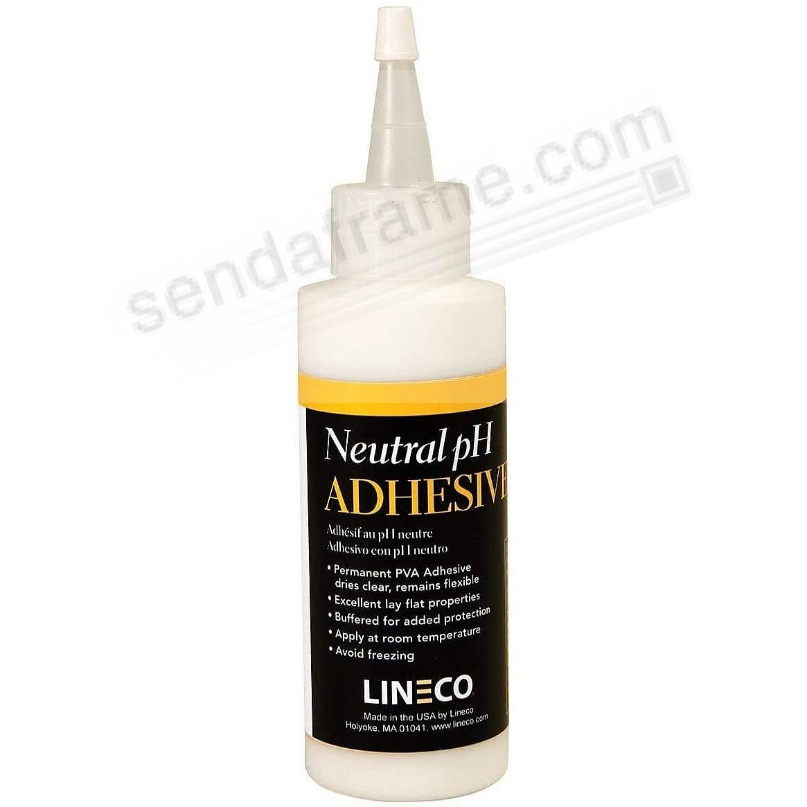 Liquid Wood-Glue Neutral pH Adhesive 4-oz by Lineco®