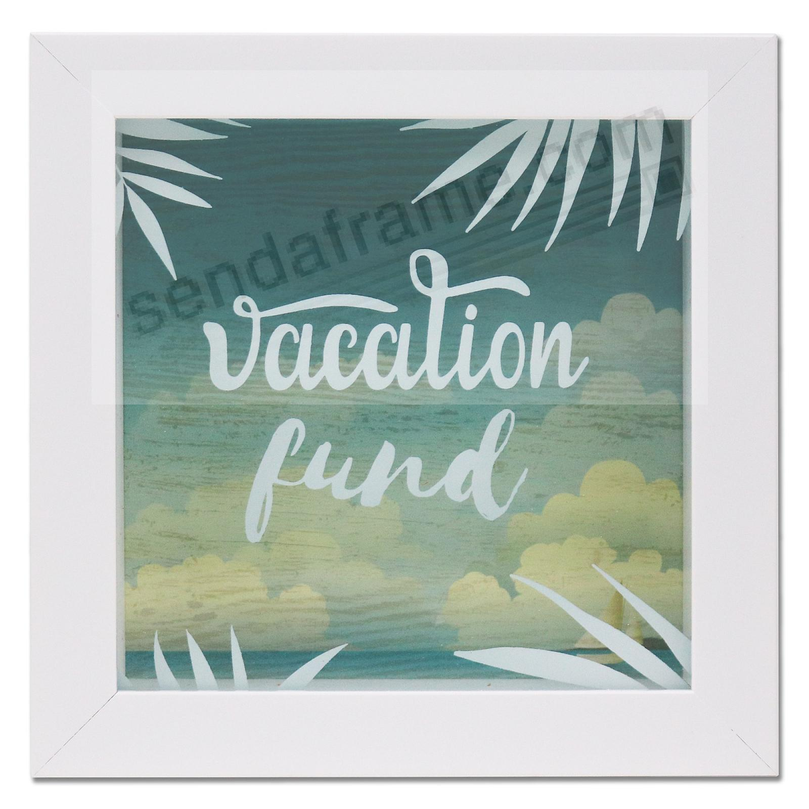 VACATION FUND ShadowBox Bank frame by Lawrence®