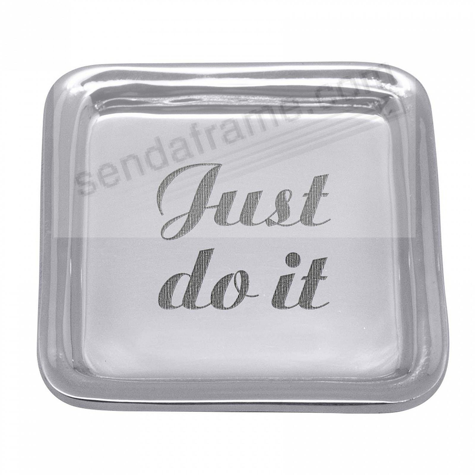 JUST DO IT SIGNATURE POST-IT Note Holder by Mariposa®